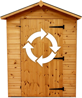 recycle-shed
